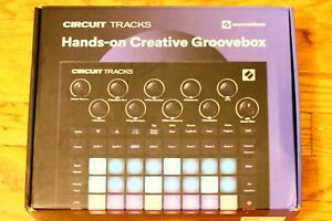 Novation Circuit Tracks Groovebox with Synths, Drums, and Sequencer