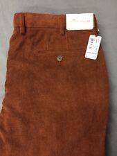 Peter Millar Nanoluxe Corduroy Golf Pants (38 x 36, Copper Brown)(NWT) MSRP $145