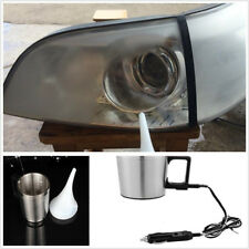 Car Headlight Lens Repaire/Restoration Kit Professional Polished Tool+Adapter EU