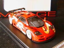 MCLAREN F1 GTR LAUNCH CAR 1996 HPI RACING 8252 1/43 HPIRACING MACLAREN RED ROT
