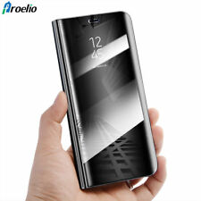 Mirror Flip Clear View Smart Case Skin Cover For Samsung Galaxy S8 Plus Note 8
