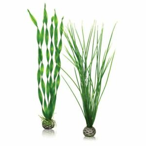 BIORB TALL/LARGE GREEN PLANT AQUATIC ARTIFICIAL AQUARIUM DECORATION FISH TANK
