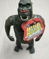 King Kong Figur von 1993 mit Etikett - Imperial / Titan Toys - ca 20cm - Vintage