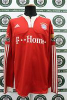 Maglia calcio BAYERN MONACO BADSTUBER TG XL shirt trikot camiseta maillot jersey