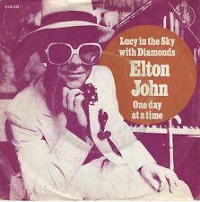 7inch ELTON JOHNlucy in the sky with diamondsHOLLAND 1974 EX  (S0703)