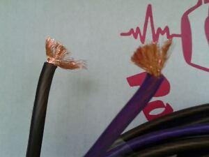Cavo alta qualità Ø 2 x 6mm OFC 100% RAME cavi casse altoparlanti 6 mm bipolare