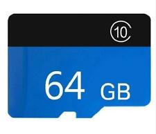 64GB Micro SD Universal Flash TF Memory Card HC Class 10 FREE SD Adapter