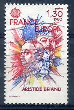 TIMBRE FRANCE OBLITERE N° 2085 CELEBRITE EUROPA / ARISTIDE BRIAND