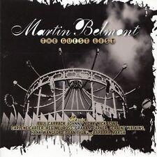 MARTIN BELMONT The Guest List | CD mit Paul Carrack Graham Parker Sean Tyla
