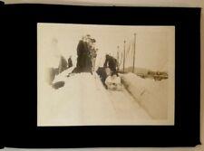 February 1916 Winter Activities at Lake Placid New York Photo Album