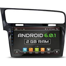 "10.1"" ANDROID 6.0 AUTORADIO FÜR VW GOLF 7 2013-17 2GB-RAM 3G WIFI BLUETOOTH NAVI"