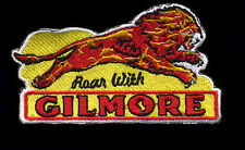 Gilmore Patch Badge Lion Roar Hot Rod Drag Race Motorcycle Motor Oil