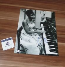 Aretha Franklin *Queen of Soul* original signed Photo in 28x35 cm (11x14), RAR