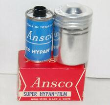 1 - NEW NOS Ansco Super Hypan High-Speed  Black & White 135 / 35mm Film expired