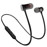 Running Bluetooth Headset Magnetic Earphone Wireless Neckband Stereo Headphone