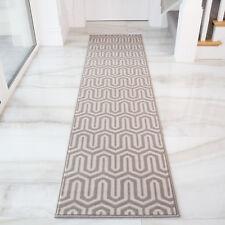 Unique Grey Silver Moroccan Rug Art Deco Hallway Runner Chevron Geometric Rugs