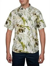 TOMMY BAHAMA Don`t Leaf Me Now Size S Small Short Sleeve Linen Shirt BNWT NWT