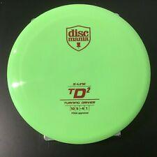 Discmania S-Line Td2 166G New, Rare, Bright Green, Penned