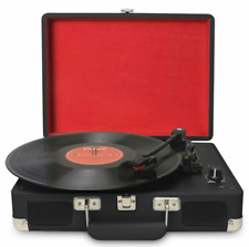 Jorlai / Musitrend Turntable Portable Suitcase Record Player Built-in Speakers
