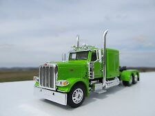 """DCP 1/64 SCALE 389 PETERBILT 63 """" BUNK (DAY CAB OPT) LIME GREEN"""