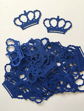 Blue Princess Party Cardstock Crown Diecuts, Decorations, Scrapbooking, Cards