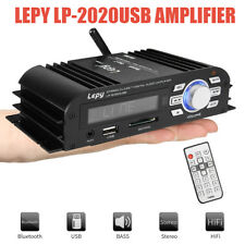 Lepai 2020USB Class T Bluetooth Stereo Mini Amplifier Digital Audio HiFi Amp 2CH