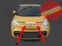I ITALIE Autocollant OVAL avec drapeau Italien Voiture Caravane Pare-choc coffre