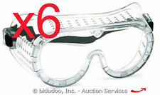 Lot (6) Eastern Safety Goggles Glasses Impact-Resistant NEW - bidadoo Auctions