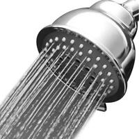 Adjustable High Pressure Water Saving Rainfall Powerful Rain Shower Head, Chrome