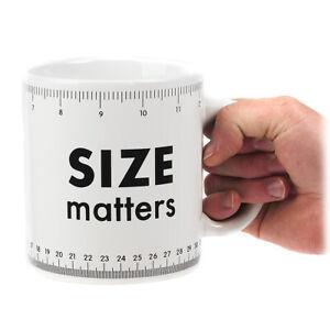 Size Matters Giant Mug