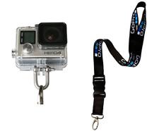 Neck Strap Lanyard for GoPro Hero 6 5 4 3 Sport Camera DJI Safe Belt & U-Lock