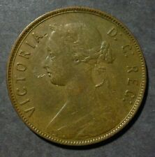 1896 Newfoundland Large 1 Cent