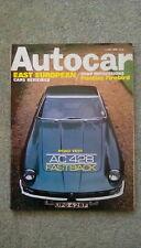 Autocar (4 July 1968) AC 428, Aston DB5, Pontiac Firebird, AMX Javelin, Skoda