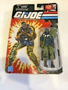 """NIB 2007 Hasbro GI Joe Artic Trooper Snake Eyes 3.75"""" Action Figure Comic Series"""