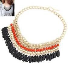 Modeschmuck-Halsketten aus Acryl und Metall-Legierung