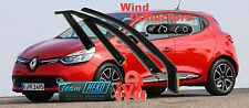 RENAULT CLIO IV 5D 2012 - Wind deflectors  4.pc  HEKO  27184  NEW