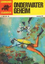 COMMANDO CLASSICS 47 - ONDERWATER GEHEIM (1977)