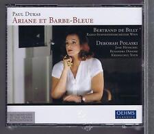PAUL DUKAS 2 CDS SET NEW ARIANE ET BARBE BLEUE BERTRAND DE BILLY