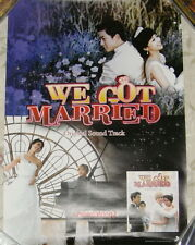 We Got Married Taiwan Promo Poster ---Lee Hong Ki (FTIsland) Ok Taec Yeon (2PM)