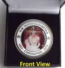 HM Queen Elizabeth II Coronation 1953 - 2013 Collectors Coin In Presentation Box