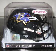 NFL SPEED  MINI HELMETS BALTIMORE RAVENS By RIDDELL