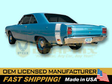1969 Dodge Dart Swinger Bumble Bee Decals & Stripes Kit