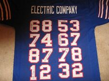 Bills Electric Company signed jersey 7 signatures Ferguson Mckenzie Green Foley