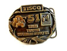 Vintage TISCO 55 Years All Makes Parts  Belt Buckle
