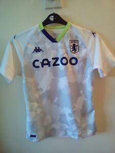 Aston Villa kids away shirt