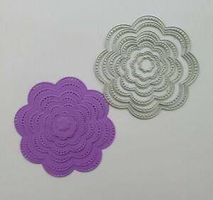Craft Metal cutting die Scrapbooking Paper craft  DIY Cards - Nesting Set x 7