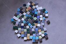 1kg Mosaik bunt 25x25 mm ca. 130 Stk. Mix bunte Mischung Restposten Basteln