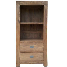 DIVINE RANGE SHEESHAM WOOD SMALL BOOKCASE BATAMBA STYLE SOLID WOOD FURNITURE