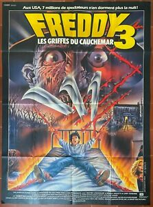 Poster Freddy 3 The Claw Of Nightmare On Elm Street Robert Englund
