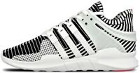 Scarpe Uomo Bianco Nero Adidas Sneakers Men Black/White Eqt Supporter Adv Pk Tg